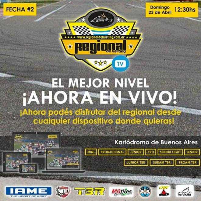 El Campeonato Regional de Karting, arranco el año con todo y ahora suma mas técnologia!